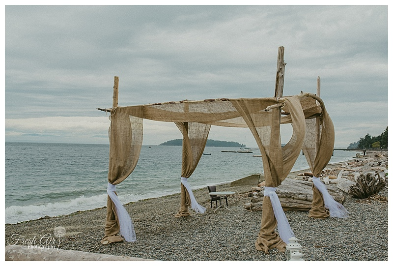 A Stormy Summer Beach Wedding - Shannon and Troy