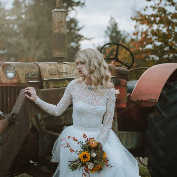 Emily - Bridal Portraits, Fresh Air Farm & Studio