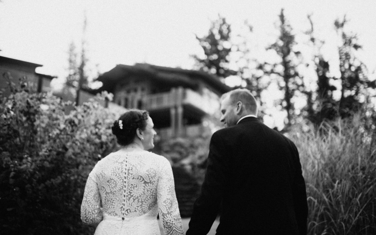 Scott and Lauren - Fall Wedding at Painted Boat Resort